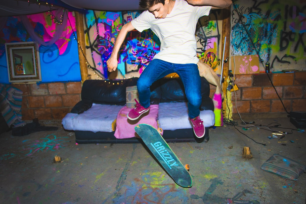 Corona lockdown provides Groningen skateboarders with space, when nobody else will